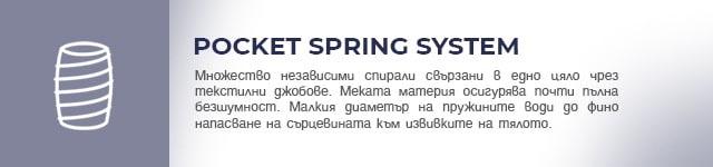 POCKET SPRING SYSTEM